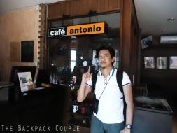 Cafe Antonio original Dumaguete branch