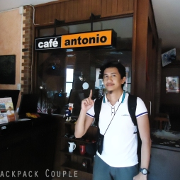 Cafe Antonio original Dumaguete branch