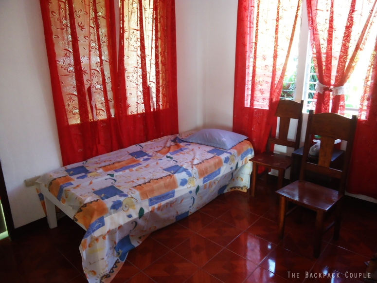 Travelers could stay at Judith Gaviola's place at a very affordable price.