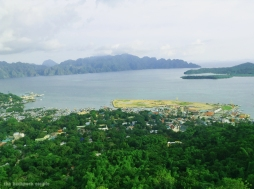 Coron town proper from Mt Tapyas