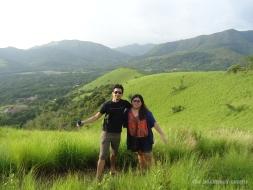 Rolling hills surrounding Mt Tapyas