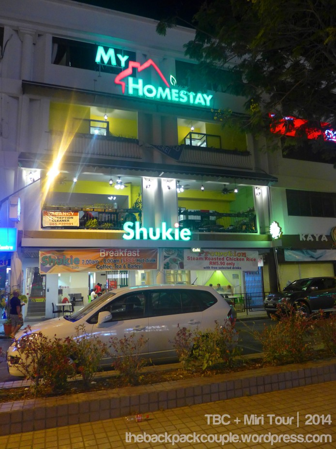 My Homestay Guesthouse also has Shukie Restaurant downstairs.