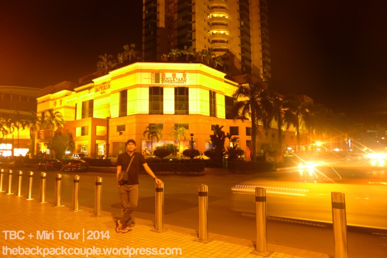 The Bouleard Hypermarket along Jalan Merpati.